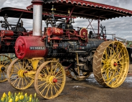 Russell Steam Tractor