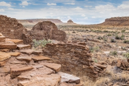 Chaco Canyon and Fajada Butte