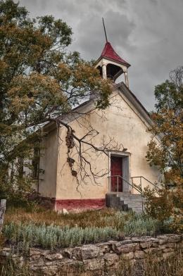 Decommissioned Church, Mora, New Mexico