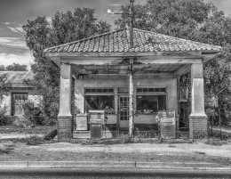 Abandoned Gas Station, Texas Panhandle