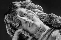 Angel Resting, Oddfellows Cemetery, Denton, Texas