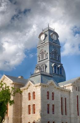 Hood County Courthouse, Granbury, TX, 2013