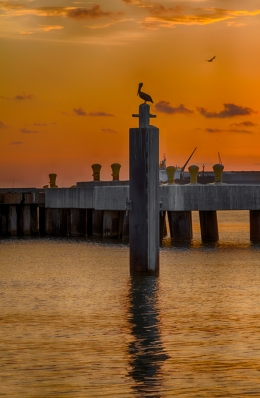 Sunset Galveston, TX