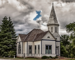 CHURCH NO MARKER